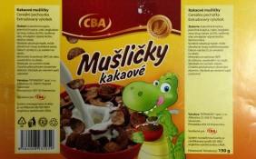Mušličky kakaové